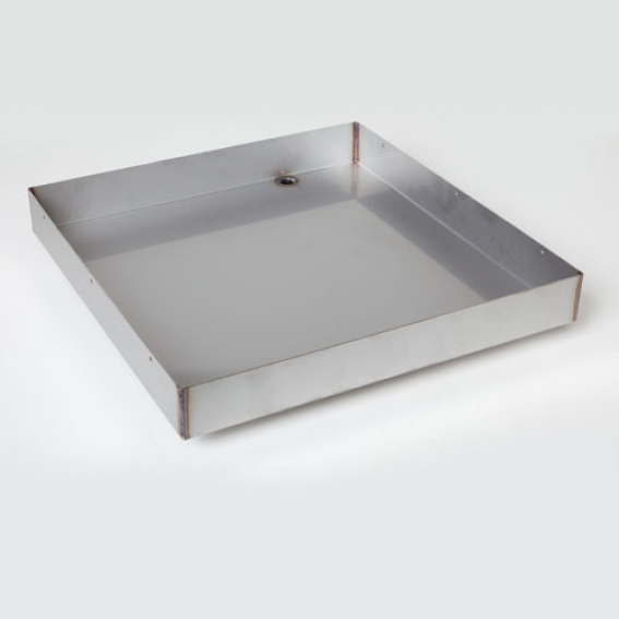 Unilux RHP Fully-Welded Stainless Steel Drain Pan