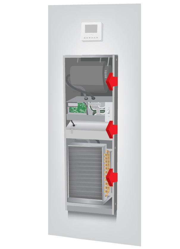 Removing Heat Pump Components Illustration